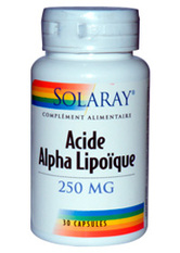 Acide Alpha Lipoïque - SOLARAY
