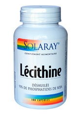 Lecithine Déshuilée -SOLARAY