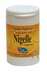 Nigelle capsules 500mg -100 capsules -ESD / PHYTOFRANCE